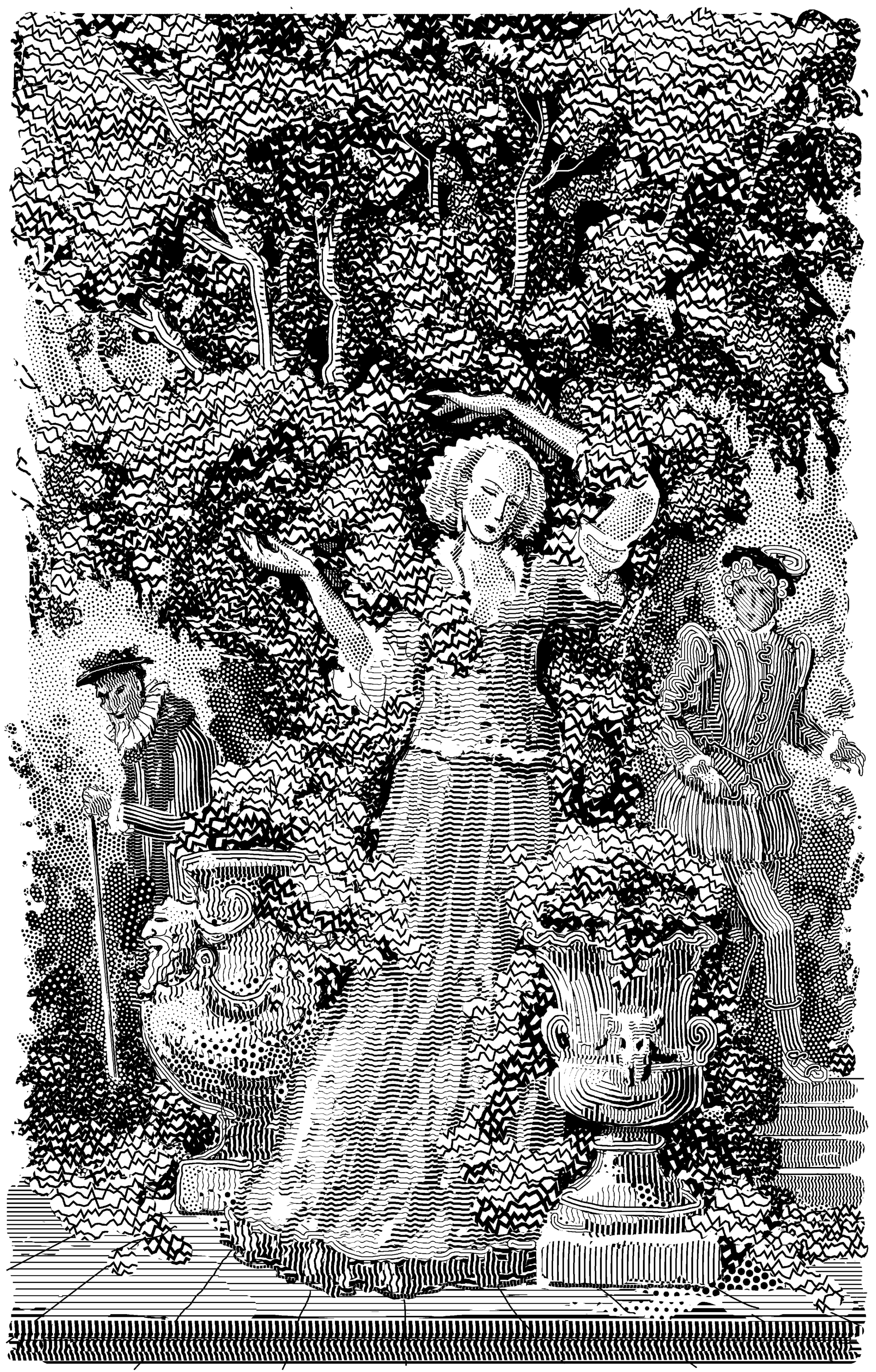 Rappaccini's daugther in her garden