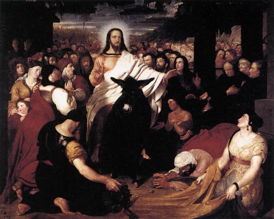 Haydon - Christ's Entry into Jerusalem