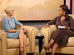 Jenny McCarthy with Oprah Winfrey in 2007